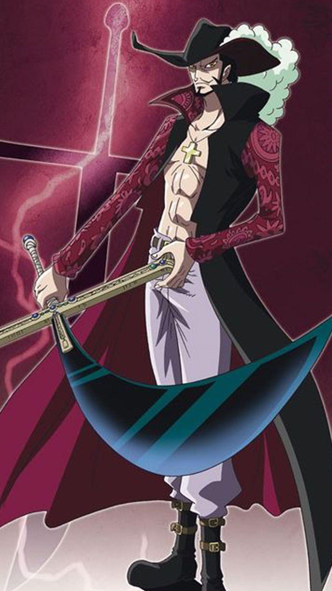 Mihawk Wallpaper 31 One Piece Anime One Piece Luffy One Piece