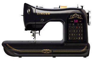 Singer Sewing machine. My 50th birthday gift from my husband. I love it!