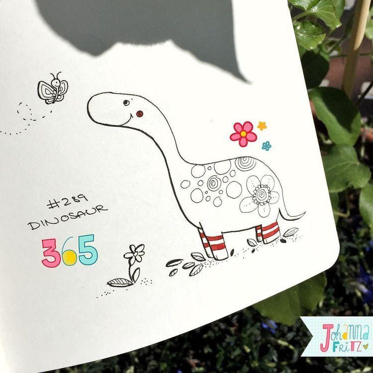 Topic: Dinosaur- By Johanna Fritz Illustration