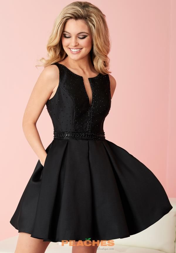 Hannah S V- Neckline Beaded Dress 27091   Homecoming 2016 ...