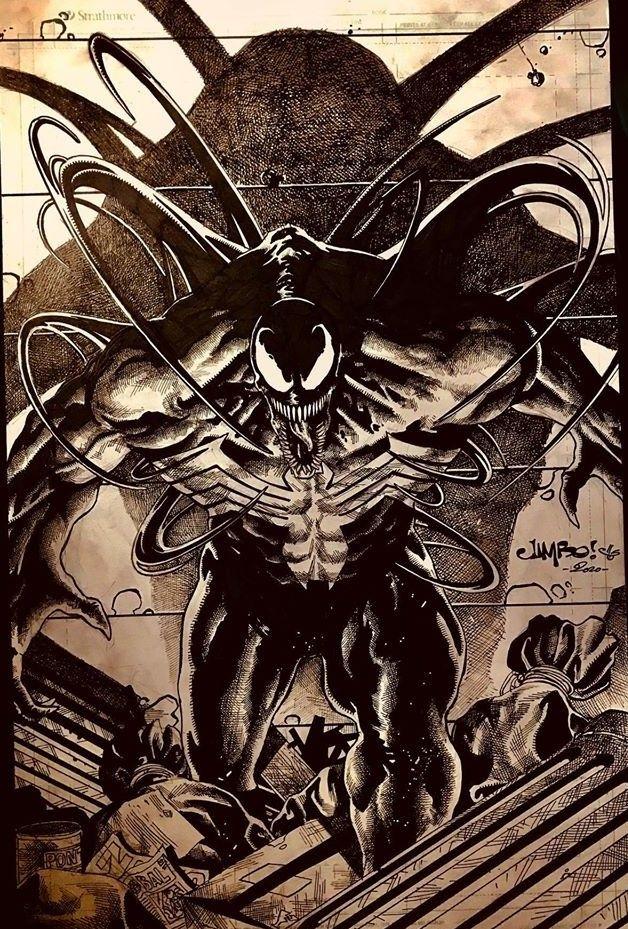 Venom by Jimbo Salgado