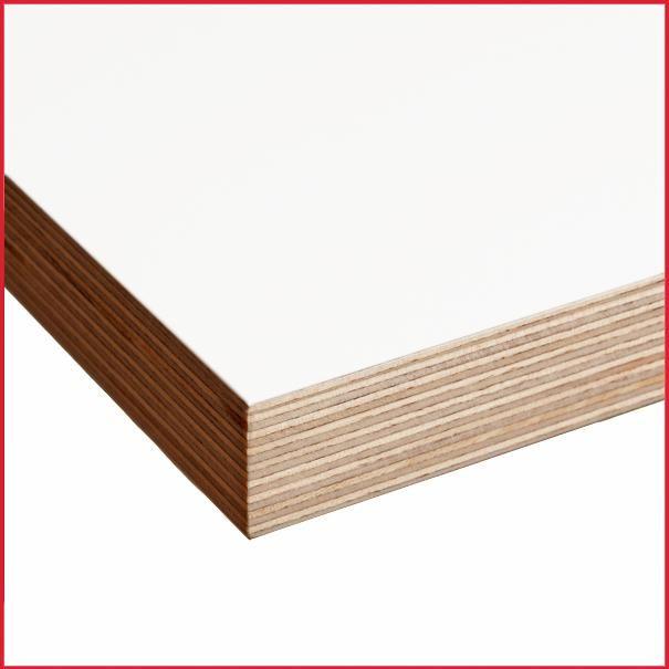 White Melamine Faced Birch Plywood 2440 X 1220mm Plywood Shelves Birch Plywood Plywood Furniture