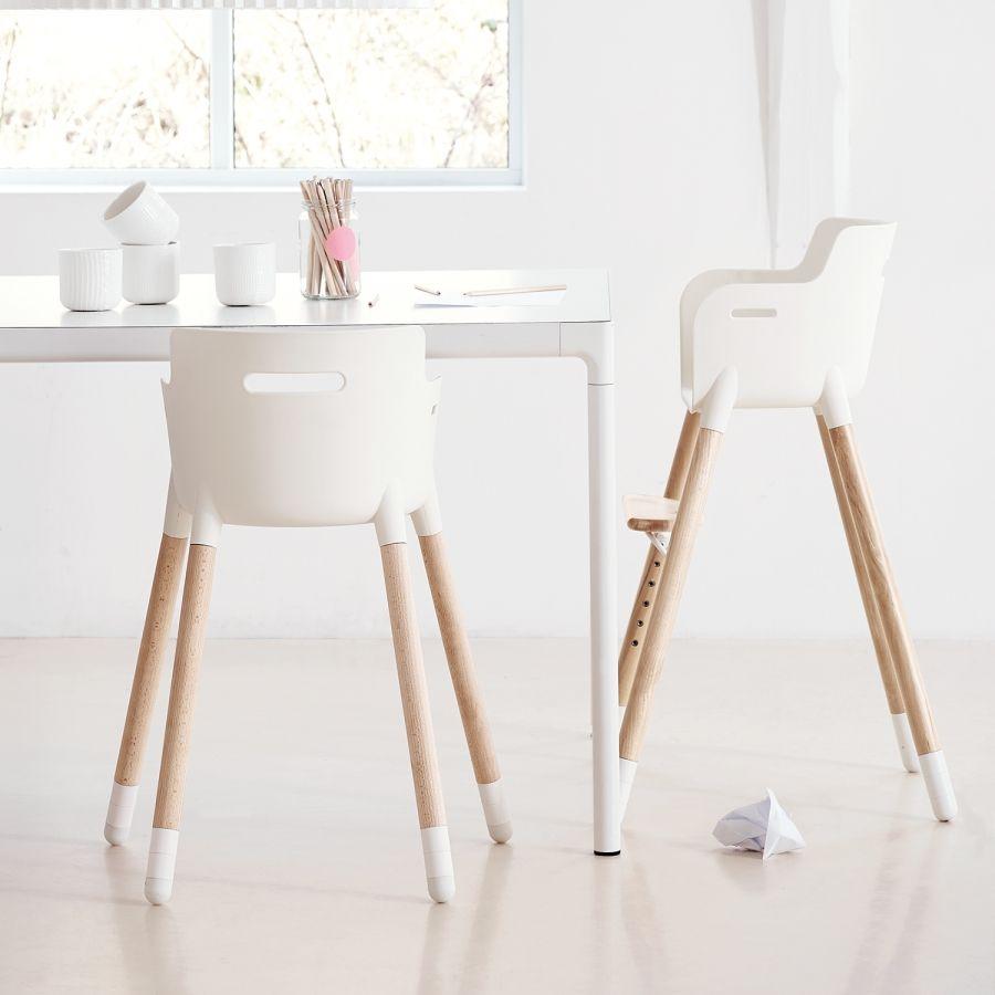 hochstuhl flexa baby buche teilmassiv wei buche home final st hle kinderzimmer. Black Bedroom Furniture Sets. Home Design Ideas