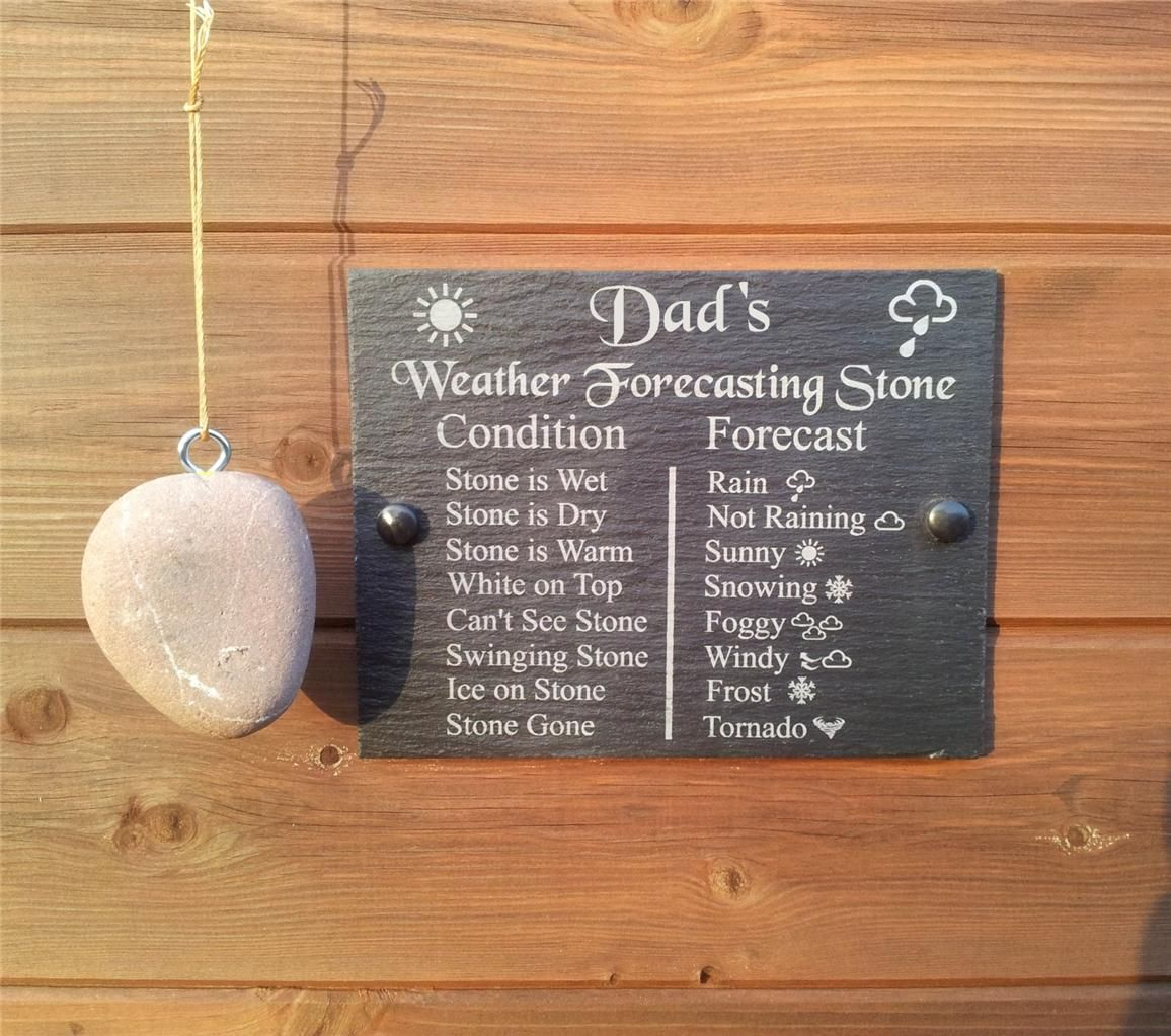 Black Slate Chalk Board Style House Rules Hanging Plaque 20 x 15cm