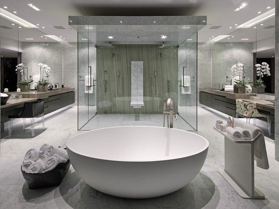 Luxurious Bathroom Designs Prepossessing Best 25 Modern Luxury Bathroom Ideas On Pinterest  Stone Shower . Design Ideas