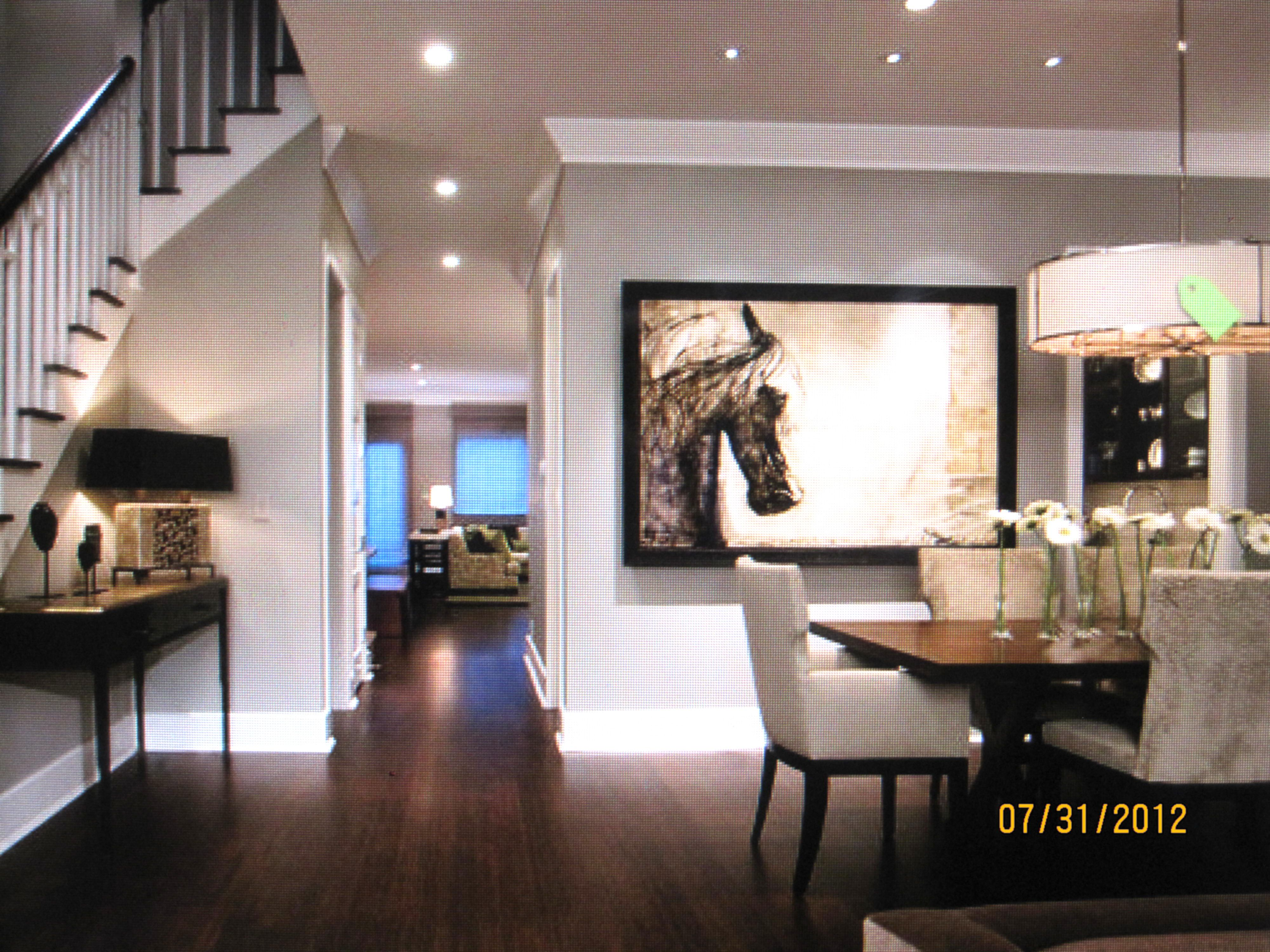 Pin By Diana Thompson On Basement Dining Room Contemporary Transitional Dining Room Dining Room Wall Decor