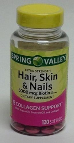 Spring Valley Hair Skin Nails Dietary Supplement 120