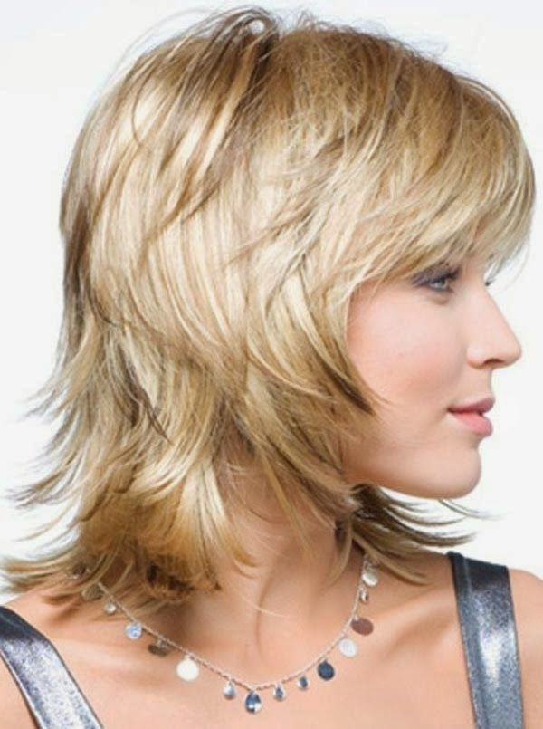 Many Women Find That This Type Of Short Layered Hairstyle Also