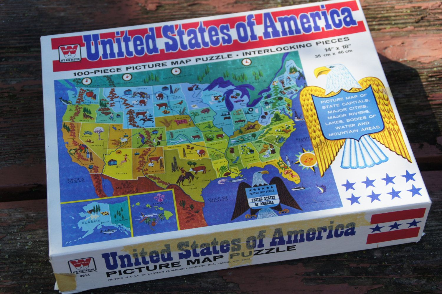 United States Inlay Puzzle No 125