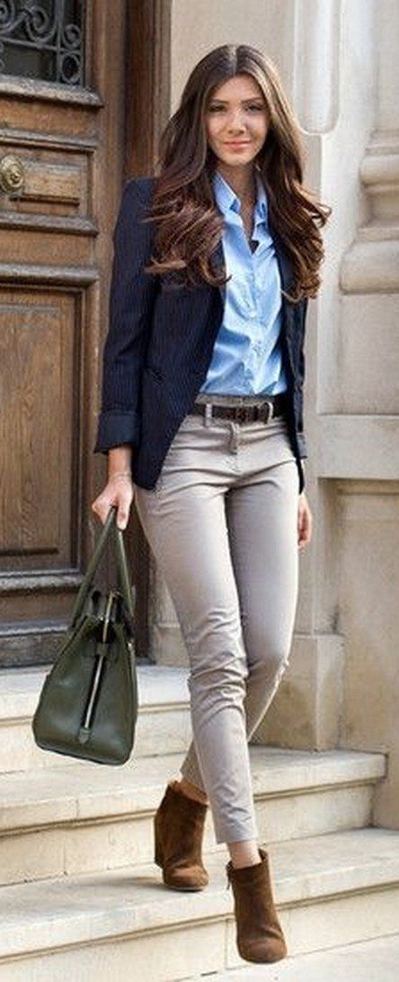 Nice 232 Casual Blazer Outfit for Women You Must Have232 Casual Blazer Outfit for Women You Must ...