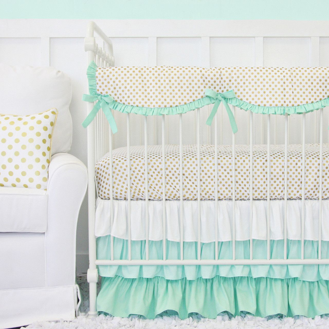 Alternatives to crib for babies - This Crib Rail Cover Is The Perfect Alternative To Crib Bumpers All The Style And