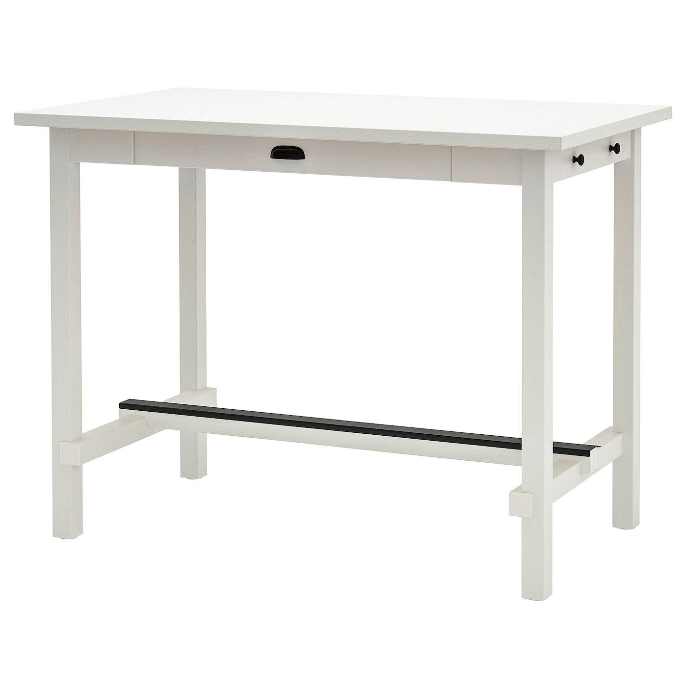 Nordviken Bar Table White 55 1 8x31 1 2 Ikea In 2020 Bar Table Ikea Bar Table Ikea