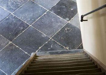 Vloer belgisch hardsteen tegels van toen belgisch hardsteen pinterest concrete floor - Tegels van cement saint maclou ...