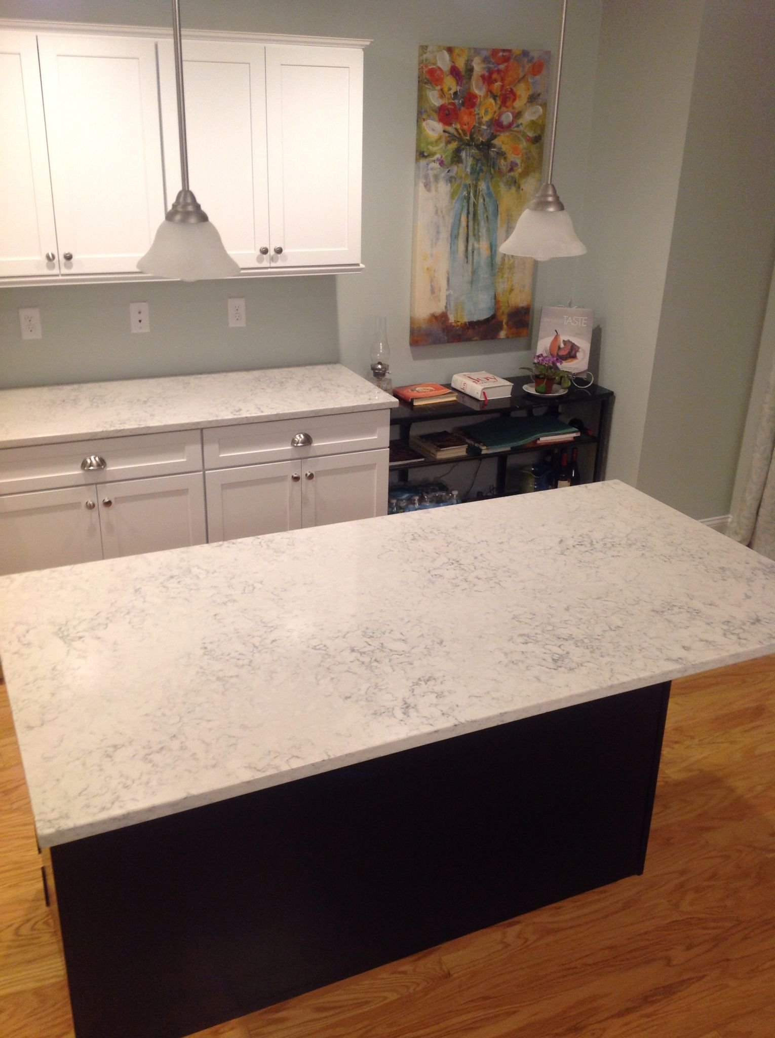 My Dream Kitchen Countertops : Love my new kitchen silestone helix countertops thinking