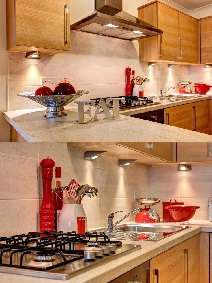 30 Beautiful Red Kitchen Accessories Ideas In 2020 Red Kitchen