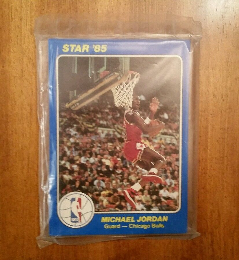 Holy Grail Michael Jordan Rookie 1984 85 Star Rc Sealed Mint