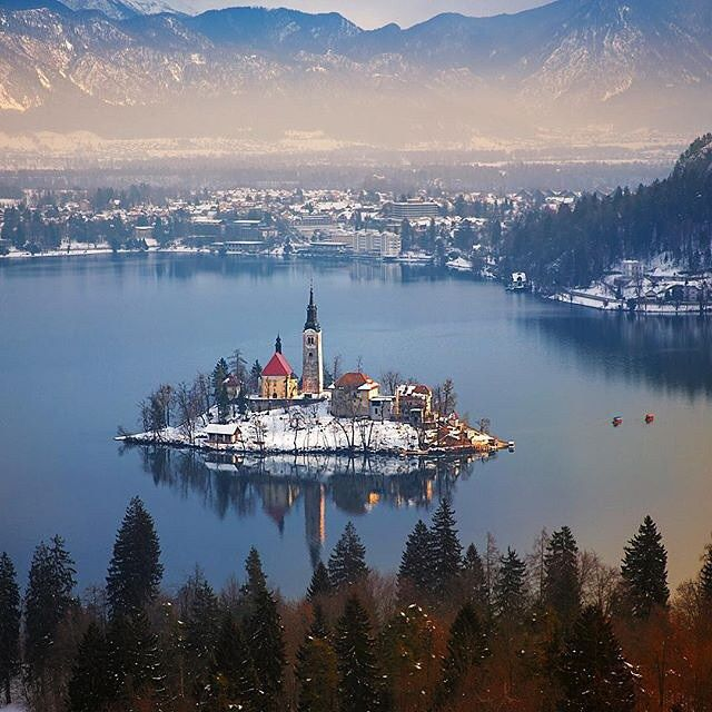 Lake Bled - Slovenia  Picture by @ilhan1077 by wonderful_places
