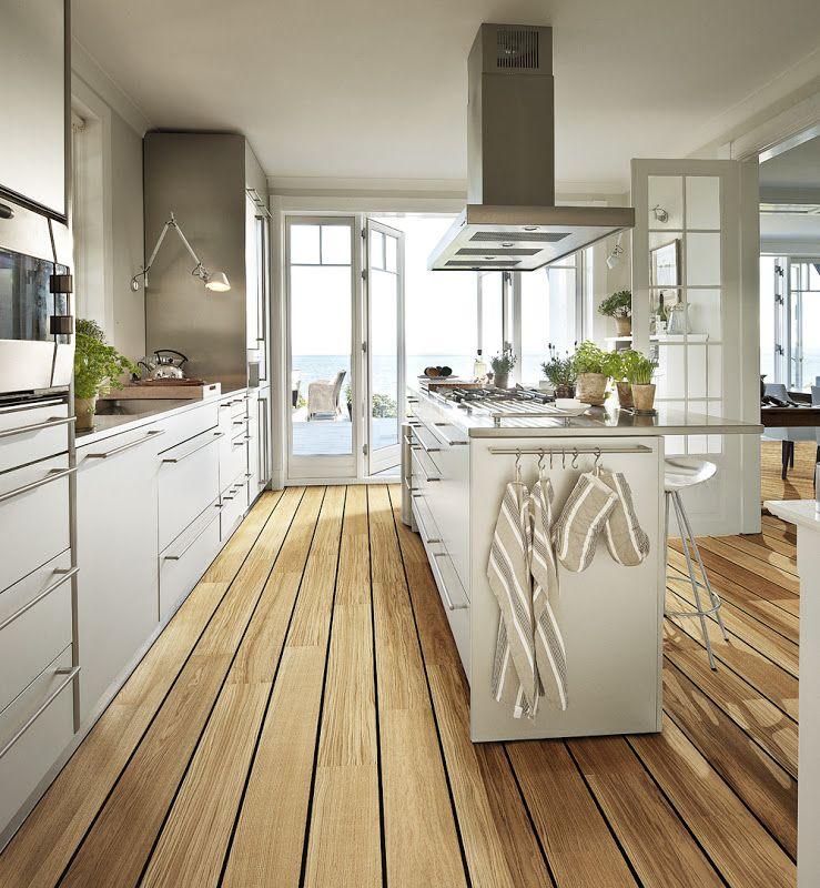 Desde my ventana estilo pinterest ventana cocinas - Tarima para cocina ...
