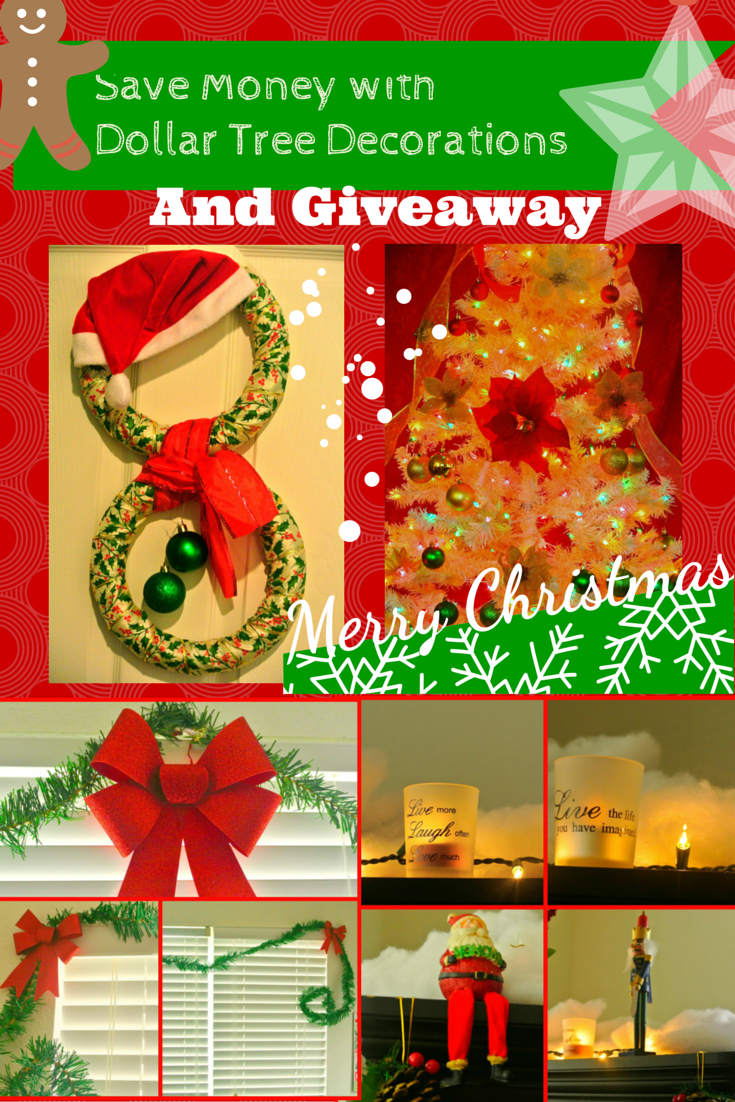Save Money With Dollar Tree Christmas Decorations Giveaway Christmas Decorations Dollar Tree Christmas Decor Decorating With Christmas Lights