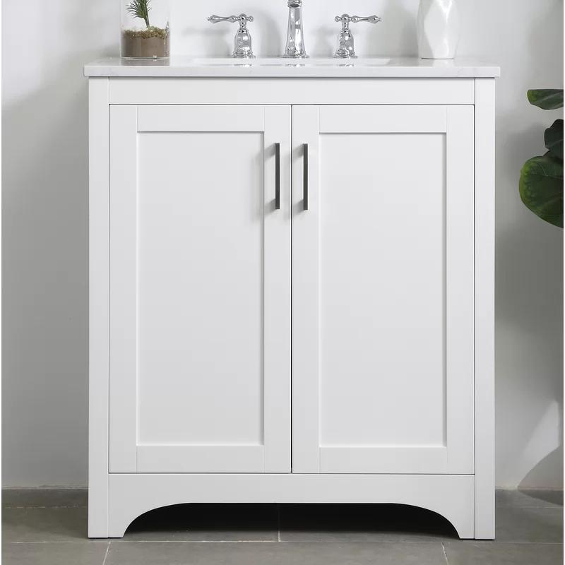 Highland Dunes Gooding 30 Single Bathroom Vanity Set Wayfair Single Bathroom Vanity Vanity Set Bathroom Vanity