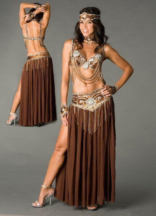 New Belly Dance Costume 2 piece Arm Bracelet Elastic Arm Chian