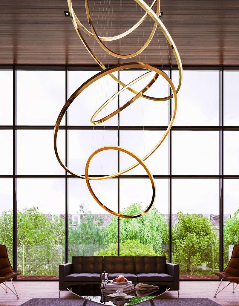 Lampadari moderni: a led ma anche economici, tanti modelli scelti ...