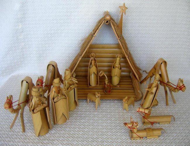 Taiwan 37 Bamboo Nativity
