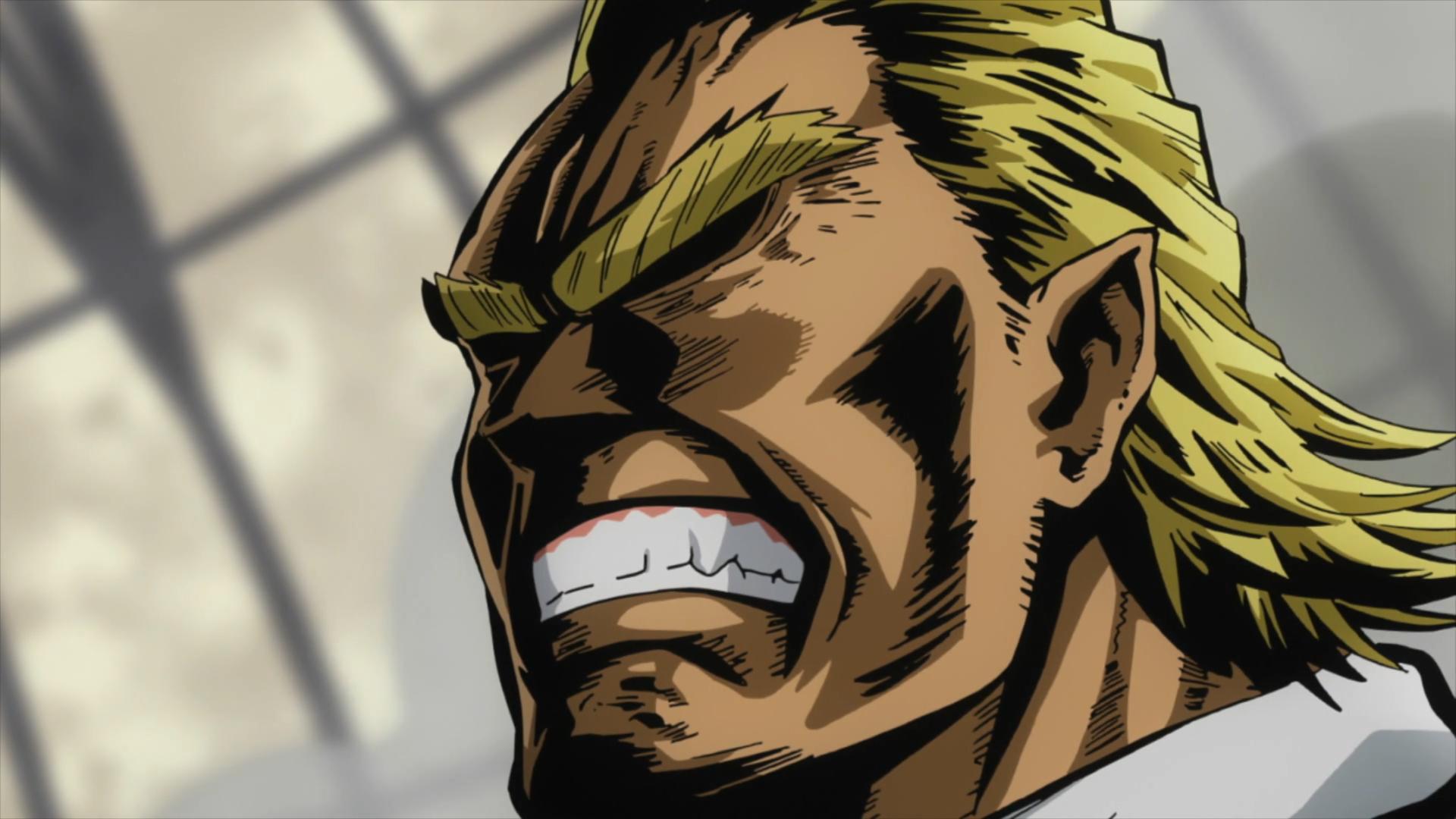 All Might Angry Face My Hero Hero Hero Academia Characters
