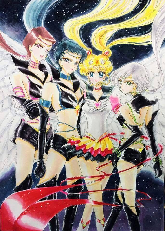 The 25+ Best Sailor Moon Stars Ideas On Pinterest