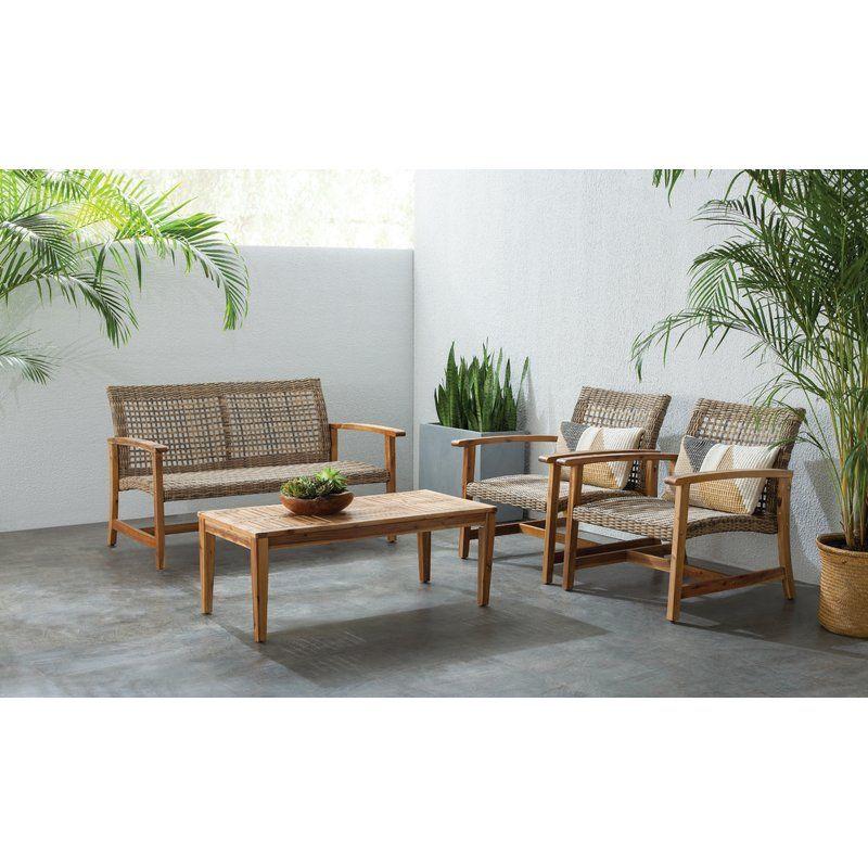 bellbrook 4 piece sofa set in 2019 garden sofa set furniture rh pinterest com