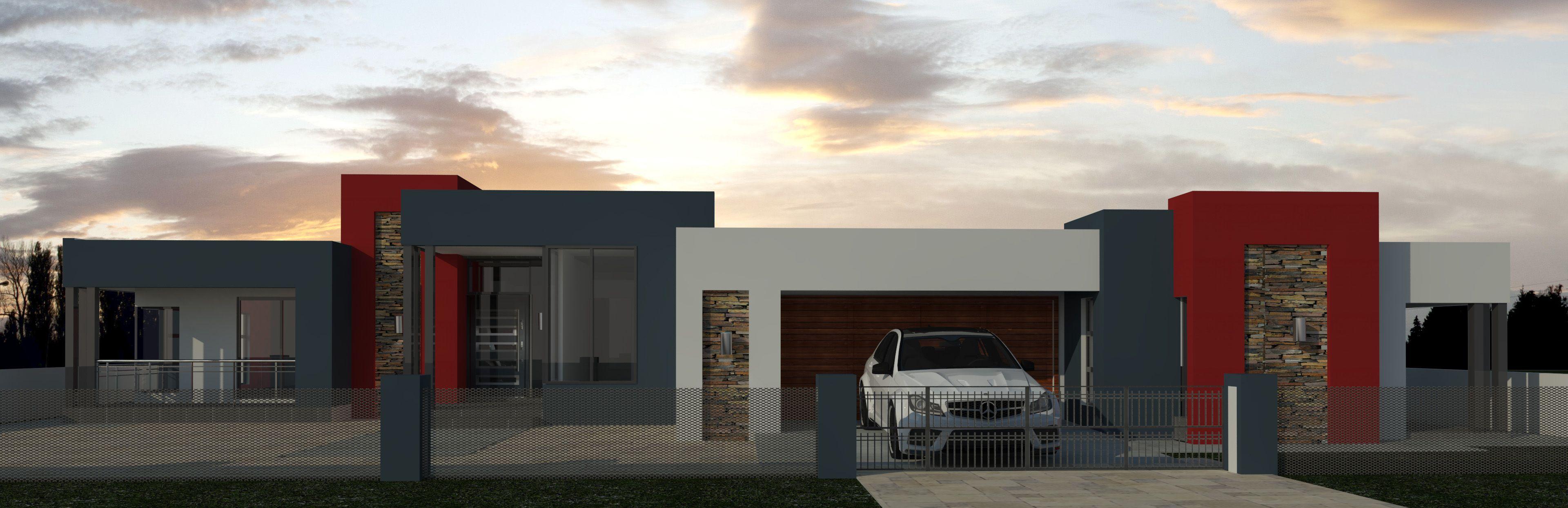 Modern Designed House Plan Boasting Full Master Suite 3