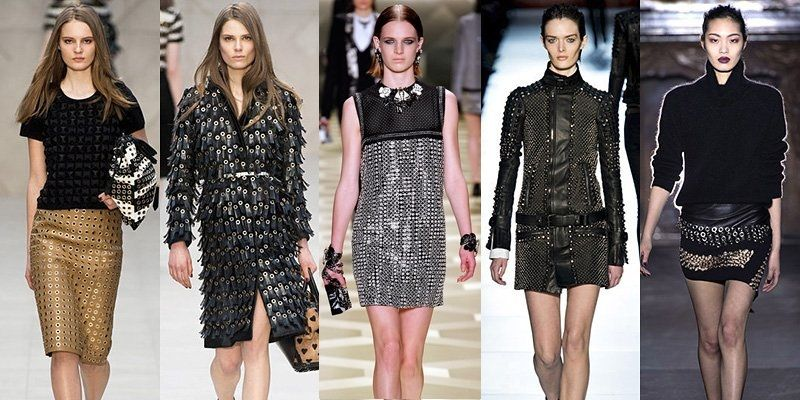 Fall/ Winter 2013-2014 Fashion Trends : Metallic Trends