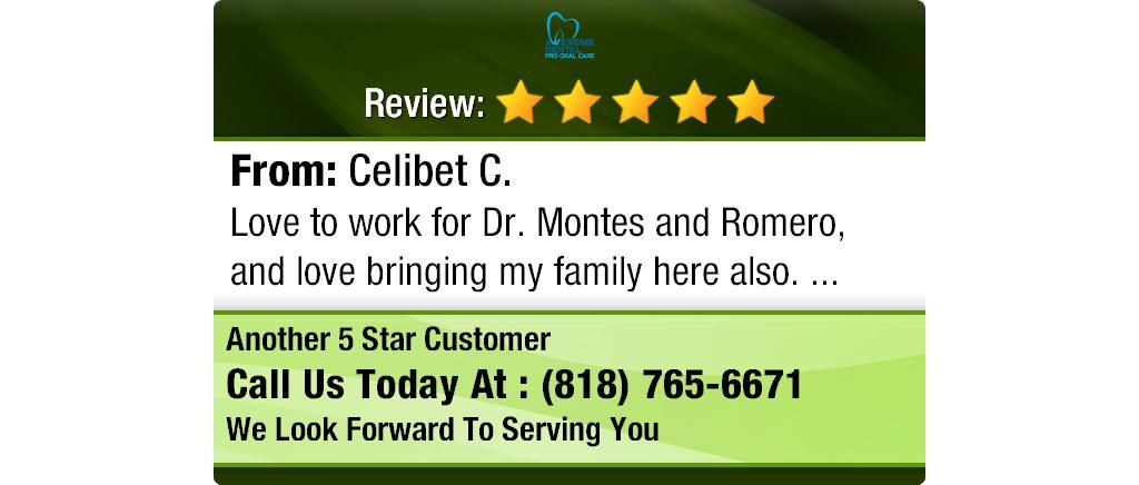 Love to work for Dr. Montes and Romero, and love bringing my family here also.