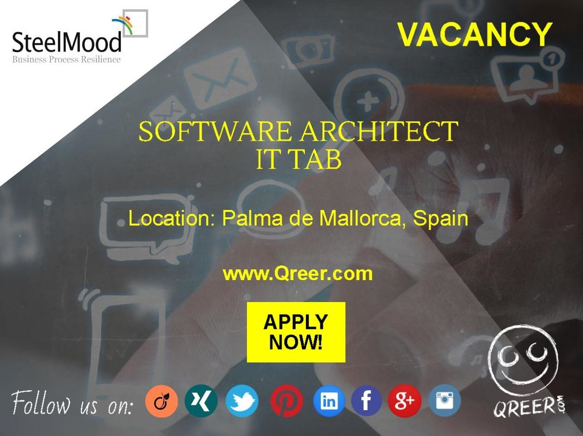 Do You Want To Work In Spain? Our Client STEELMOOD Is Looking For A Software
