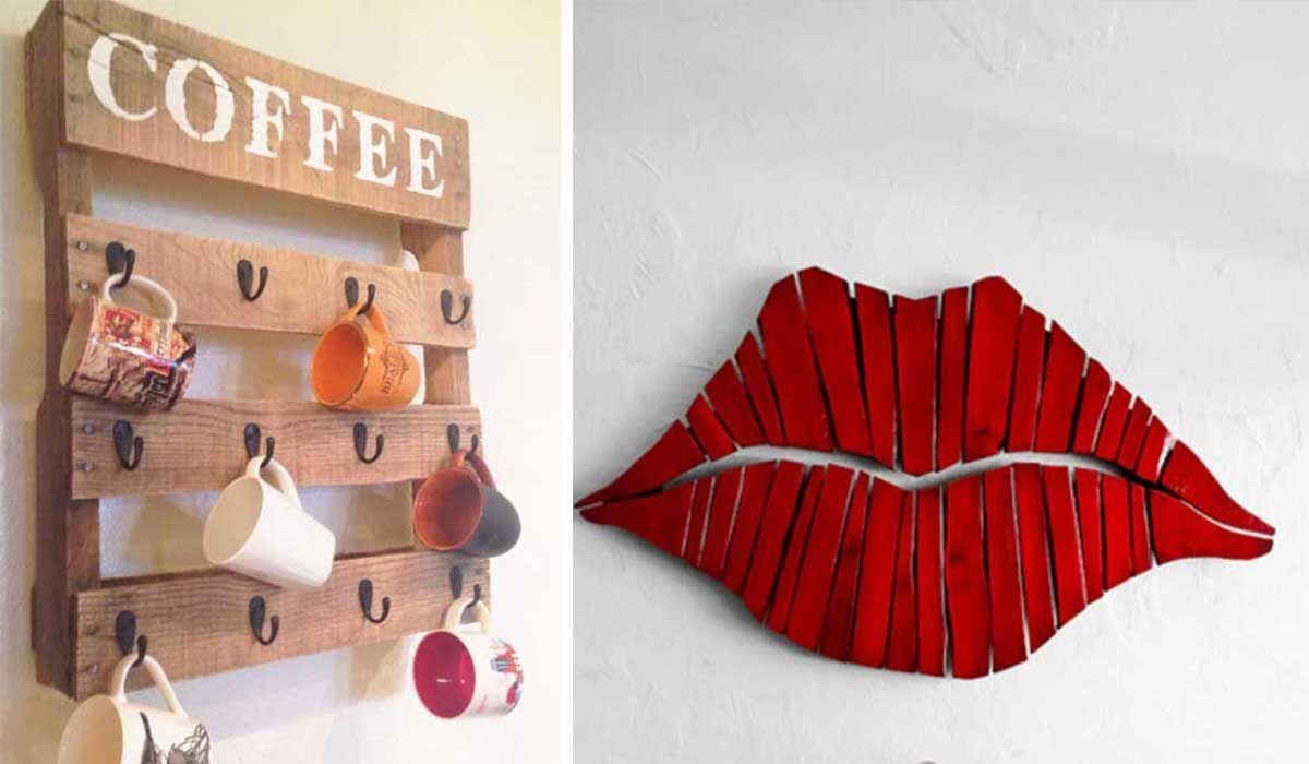 25 fant sticas ideas para renovar las paredes de tu hogar - Decoracion con reciclaje para el hogar ...