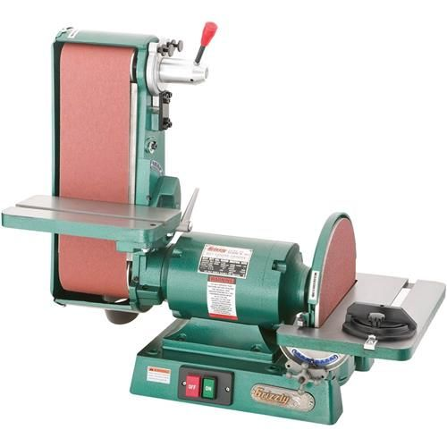 6 X 48 Belt 12 Disc Combo Sander 3450 Rpm In 2019