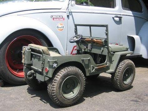 Mini Willys Jeep Gokart 1 3 Scale Replica Custom Built With