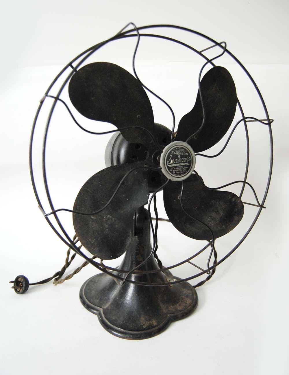 Vintage Emerson Seabreeze Fan Vintage Fans Fan Antique Fans