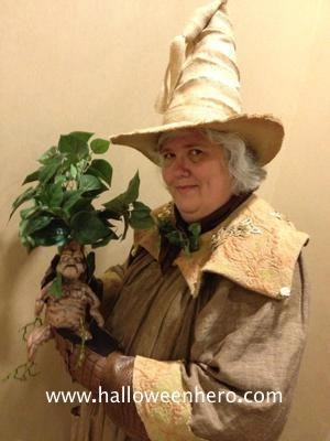 Professor Sprout Costume Harry Potter Decor Harry Potter Cosplay Harry Potter Halloween
