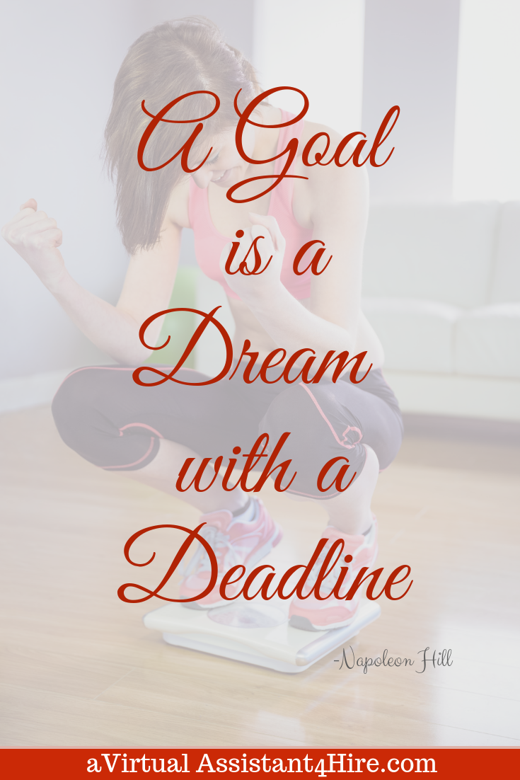 A Goal Is A Dream With A Deadline Funny Inspirational Quotes Inspriational Quotes Inspirational Quotes