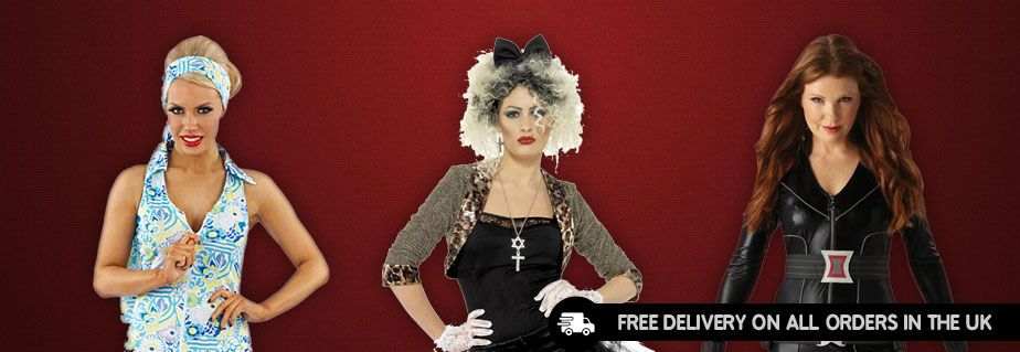 Fancy Dress Costumes - Buy Halloween Costumes Online, UK | Marshelles