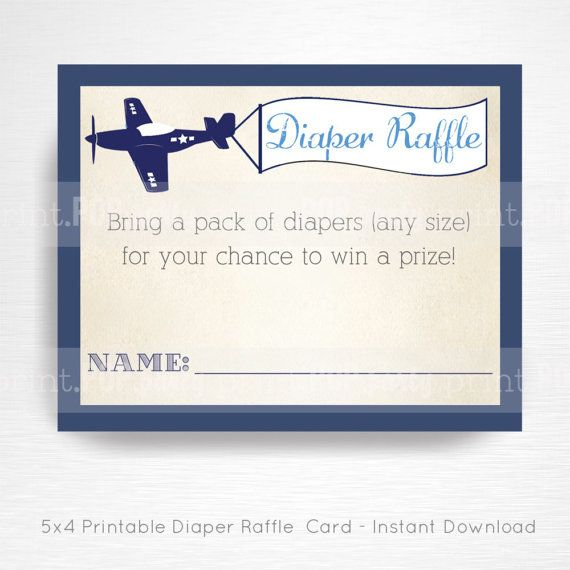 Planes Trains Automobiles Baby Shower Party Printable Diaper Raffle Card YOU PRINT Vintage Navy Blue Grey This is an emailed file, nothing will be shipped to you. This is an example of what we can do, if you want to tweak this file please message us in Etsy Convos.  Each card is approximately 5x4 in size (depending on how you trim them). Prints 4/page.  Your cards will be ready to download upon completion of purchase.