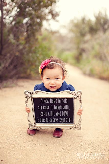 New blessing announcement, pregnancy announcement, new baby Baby
