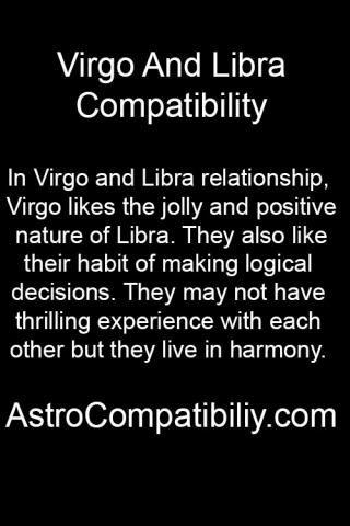 Libra virgo relationship