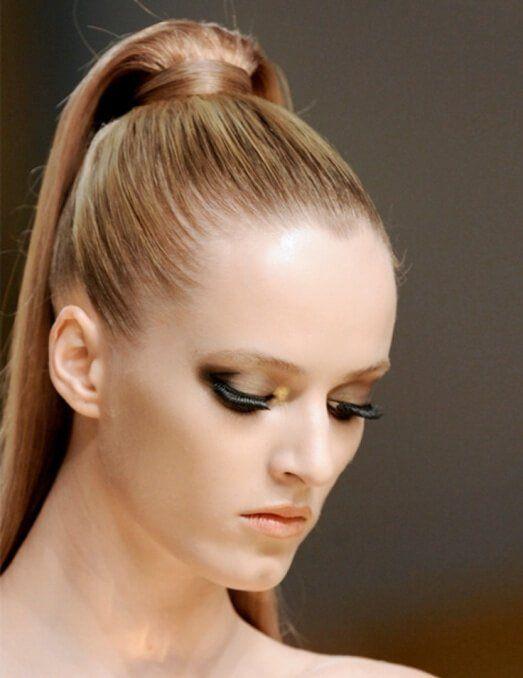 20 Peinados recogidos pra cabello largo. Hairstyles for long hair.  Hairtrend. Hair style. peinado recogido alto 26a7634d7175
