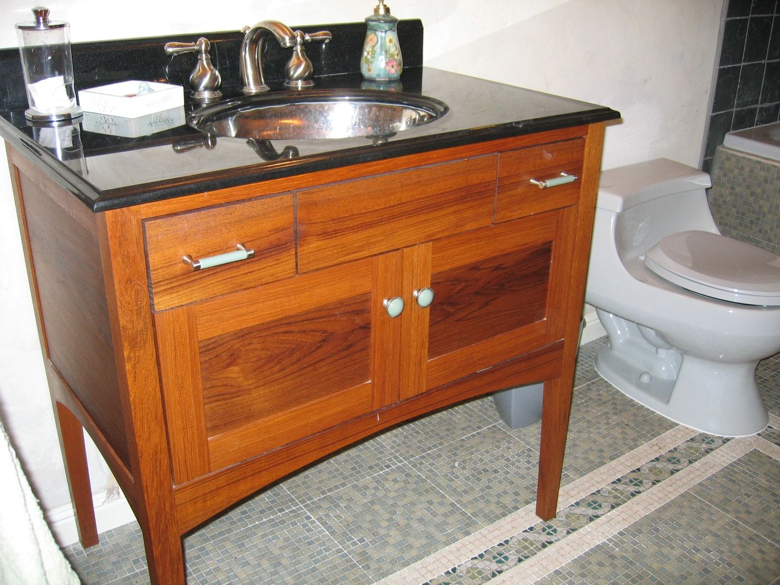 Custom Teak Furniture Style Bathroom Vanity Teak Bathroom Vanity Teak Bathroom Teak Vanity