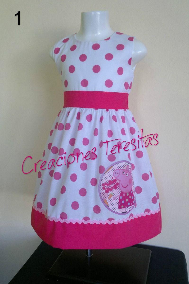 865827053 Vestidos De Niñas Peppa Pig