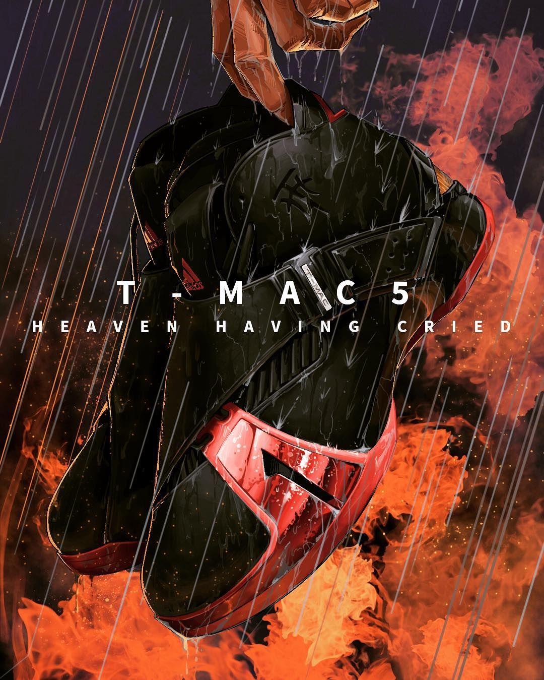 It's raining#tmac5 #tracymcgrady