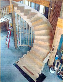 How To Build A Curved Staircase Google Search Curved Staircase Stairway Design Stairs Design