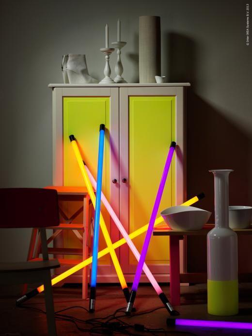 Neon Lights Decor Styling Ikea